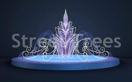 Световой фонтан «Аврора»