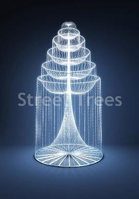 Световой фонтан «Ниагара»