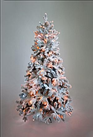 Ёлка снежная Барокко Премиум 2,1 м
