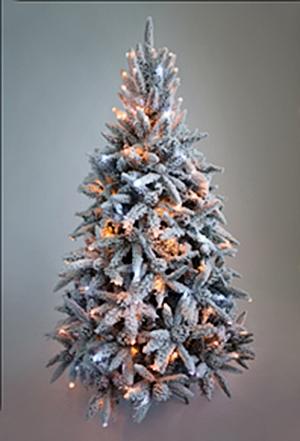 Искусственная ёлка снежная Классико Премиум 2,4 м (240 см) купить с доставкой в ваш город по выгодной цене