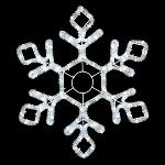 """Световой мотив """"Снежинка Кристалл""""  купить с доставкой в ваш город по выгодной цене"""
