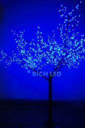 Многоцветные светодиодные деревья