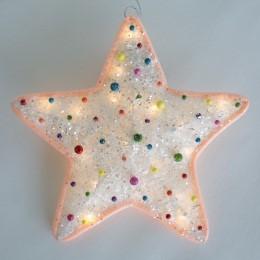 Световое украшение игрушка «Звезда» (коллекция «Сланди»)
