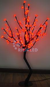 Светодиодное дерево Rich LED Сакура 110, 24В красное